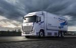 현대자동차가 출시한 2021년형 엑시언트 수소 전기트럭