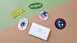 예스24가 지구사랑 캠페인에서 증정하는 제로 웨이스트 리무버블 스티커 세트