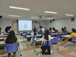 2021년 ONE-DAY 취업캠프 특강에 참여하고 있는 학생들