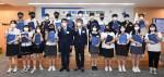 가운데 왼쪽부터 안재민 한국 중등교장협의회 서울 지역 회장, 석창규 웹케시그룹 회장