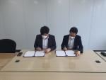 왼쪽부터 하임코리아 이종호 대표, 상상여행 김지환 대표