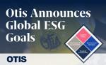 오티스는 글로벌 ESG 경영 목표를 추가 발표했다