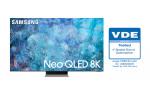 VDE 인증을 받은 삼성 Neo QLED 제품
