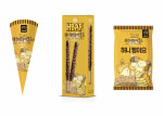 GS25에서 출시 예정인 허니버터아몬드콘, 허니버터아몬드 빼빼로, 허니 뻥이요 상품