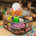 홍콩 현지의 파크앤샵 매장에서 판촉전을 진행하고 있는 GS리테일의 자체 브랜드유어스상품과 중소기업 상품