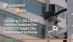 쿼너지의 3D 라이다 솔루션이 한국 내 최초 V2X 스마트 도시 구축을 위해 선정됐다
