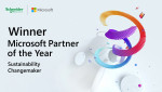 Schneider Electric Recognized as 2021 Microsoft Sustainability Changemaker Partner of the Year Award