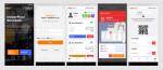 IndoorPlus+ WorkSafe 모바일 앱 화면