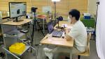 대학생멘토가 직접 준비한 수업 내용으로 비대면 온라인 방식의 스마트모빌리티 공학 체험교육 수업을 진행하고 있다