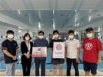 금나래문화체육센터가 '잎새뜨기, 잎새수영 전문 교육장'을 획득했다