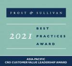 아방스 클리니컬이 고객 가치 리더십 부문에서 프로스트 앤드 설리번 2021 아시아-태평양 CRO 최고기업상을 받았다