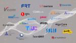 K-챔프 콜라보레이션 참여 기업들 로고