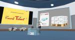 메타버스 플랫폼 버벨라를 통해 성과 공유회를 진행하고 있다
