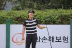 2라운드에서 공동 선두를 기록한 한화큐셀골프단 소속 김지현은 무결점 경기력으로 우승에 도전한다