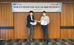 왼쪽부터 MBC 정영하 방송인프라본부장, 파블로항공 김영준 대표