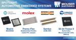 마우저 일렉트로닉스가 다양한 최신 자동차 임베디드 제품 보유 및 공급한다