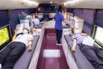 한국수출입은행 임직원들이 단체 헌혈에 긴급 동참했다