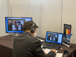 The World Online ICT Show (WOW) 2021 Business Meeting to support the overseas market entry of Korean