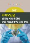 '2021 바이오산업 분야별 시장동향과 유망 기술개발 및 기업 현황' 보고서 표지