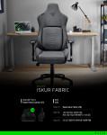 RAZER가 게이밍 의자 'Razer Iskur Fabric'을 출시했다