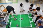 남북 단일팀 로봇 축구 대회