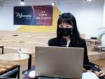 화메이 최영희 대표가 행사를 진행하고 있다