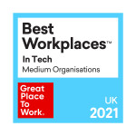 Rimini Street UK Once Again Ranked in the Top 20 for 2021 UK's Best Workplaces™ in Tech