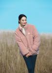 '비 베터 다운 재킷'을 착용한 노스페이스 홍보대사 신민아