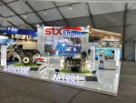 STX엔진은 '서울 ADEX 2021'에서 K9 자주포 및 K1A2 전차 국내 개발 디젤 엔진을 일반에 처음으로 공개한다