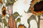 아작 개인전에 전시된 '순백이라는 태도, 162 x 130cm' 작품