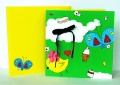 푸르덴셜생명이 자녀에게 보내드리는 카드 샘플