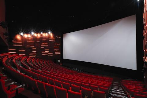 세계 최대 스크린으로 기네스에 등재된 CGV영등포 스타리움관 내관
