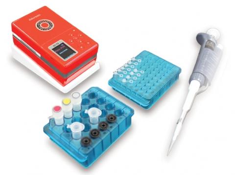 아람 바이오시스템㈜가 출시한 손바닥 크기의 혁신적 포터블 유전자 증폭기
