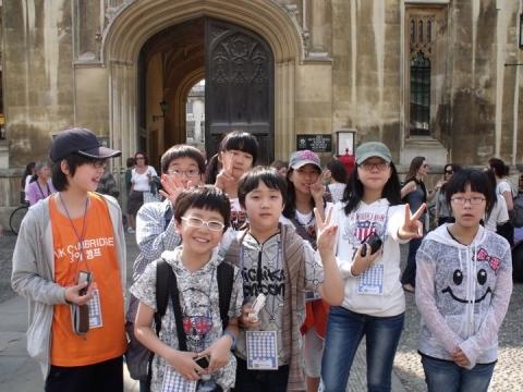 사과나무영국영어캠프, 케임브리지 대학에서 관심 집중