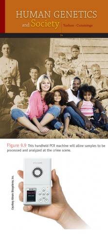 한국 기업이 개발한 휴대용 유전자 증폭기 Palm PCR, 미국 대학교과서에 실리다