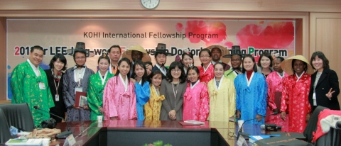 2013 Dr. Lee Jong-wook Fellowship Doctor's Training Orientation