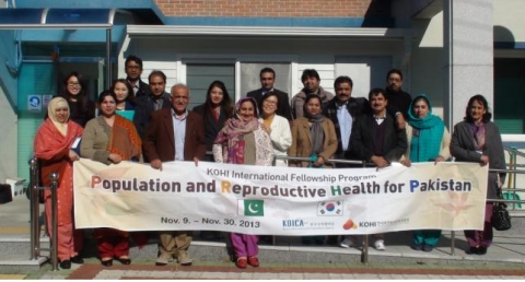 KOHI  successfully concluded Population and Reproductive Health for Pakistan Program with KOICA.