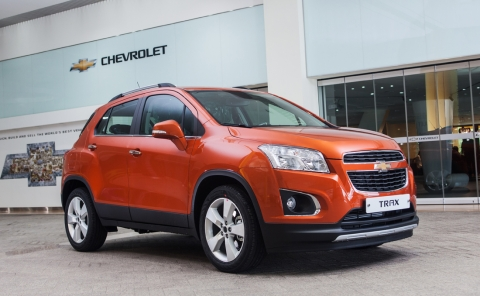 GM Korea today announced that Chevrolet's all-new small SUV, the Trax, has been named the Safest Car...