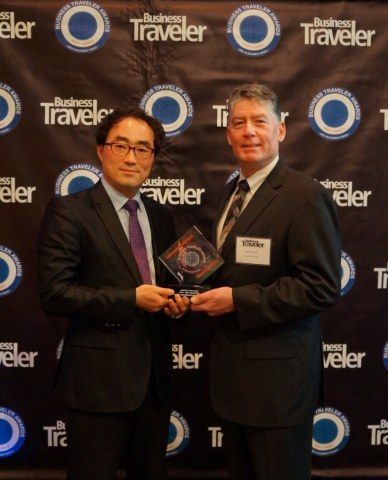 AIRSTAR Avenue, the duty free shop complex in the Incheon International Airport, was honored with th...