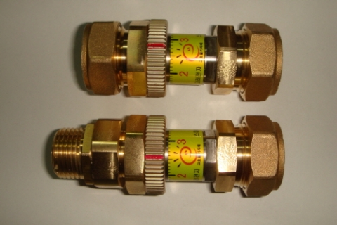 Automatic proportional control valve