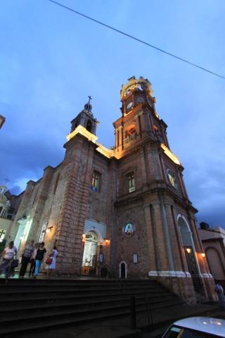 멕시코 푸에르토 바야르타 과달루페성당