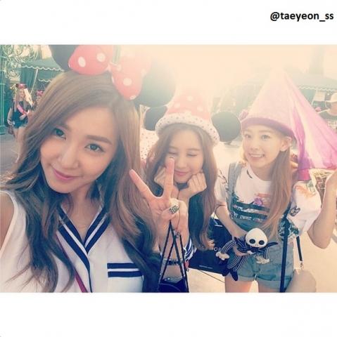 소녀시대 태연의 2014년 가장 많은 '좋아요'를 받은 사진 (출처 - 태연 인스타그램 @taeyeon_ss)