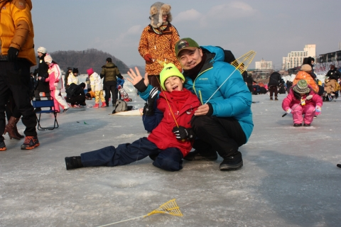 Comedian Yeom Gyeong-hwan is the honorary ambassador of Pyeongchang Trout Festival