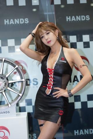 핸즈 모터스포츠 페스티벌 2015 전속모델 허윤미