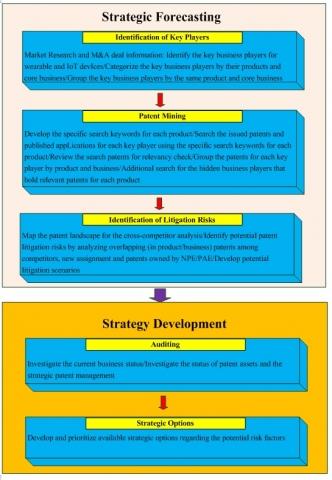 테크아이피엠의 특허전쟁 전개양상 예측 및 전략수립 시스템 개요