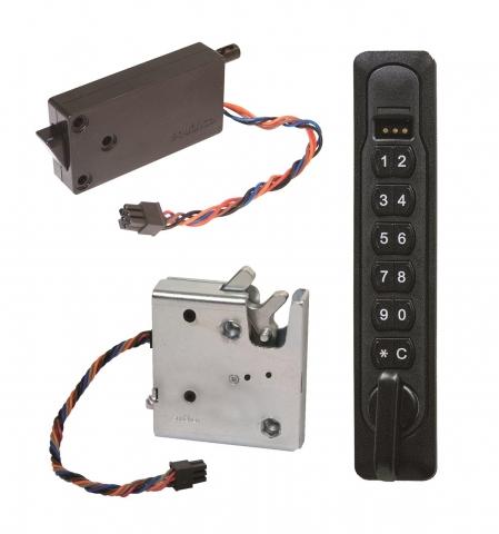 기존 보안 시스템의 원격 모니터링 기능과 쉽게 통합될 수 있는 사우스코의 전자제어 잠금장치는 내부 설치를 통해 보안성을 높일 수 있다