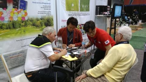에이스골프의 2016 PGA Merchandise Show 참가 모습