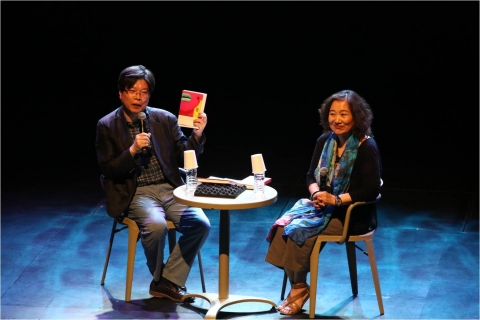 7월 광주 국립아시아문화전당 예술극장에서 진행된 문학콘서트