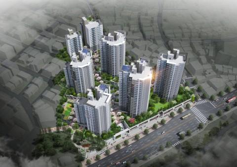 롯데건설이 10월 서울 용산구 효창5구역 재개발사업을 통해 '용산 롯데캐슬 센터포레'를 분양할 예정이다