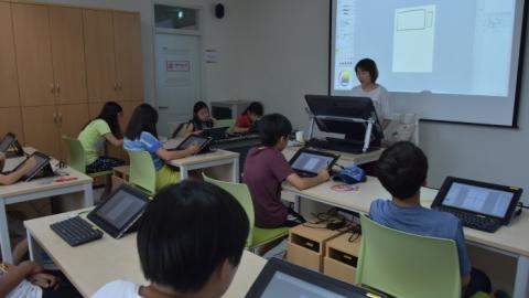 2016 웹툰 교육프로그램 사진